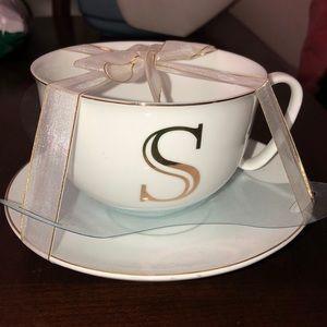 """Letter """"S"""" mug set"""
